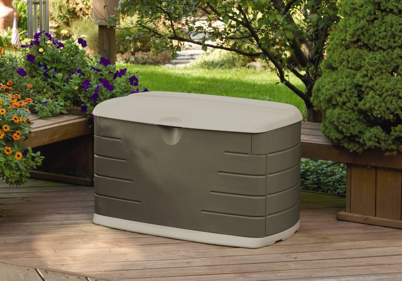Rubbermaid 5F21 Deck Box With Seats