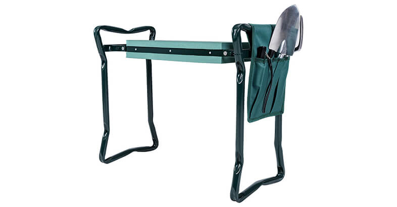 Goplus Folding Garden Kneeler Bench Heavy Duty