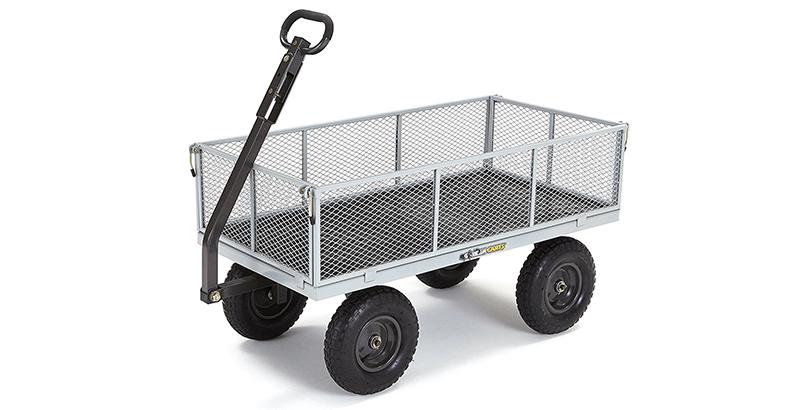 Gorilla Carts GOR1001 COM Heavy Duty Steel Utility Cart