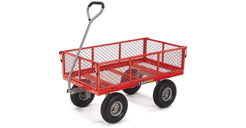 Gorilla Carts GOR800 COM Steel Utility Cart