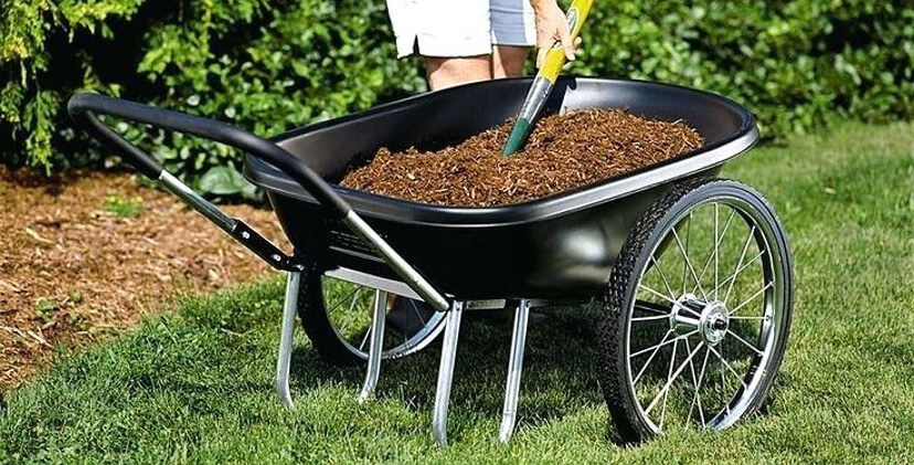 10 Best Utility Garden Carts With Wheels - Tractor Sprinker Hub