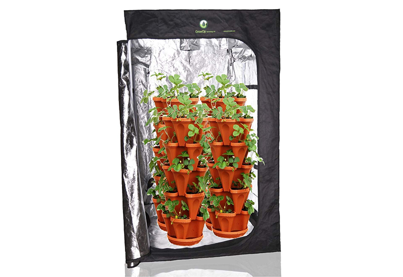 Mr. Stacky Individual Stacking Vertical Gardening Planter Pots