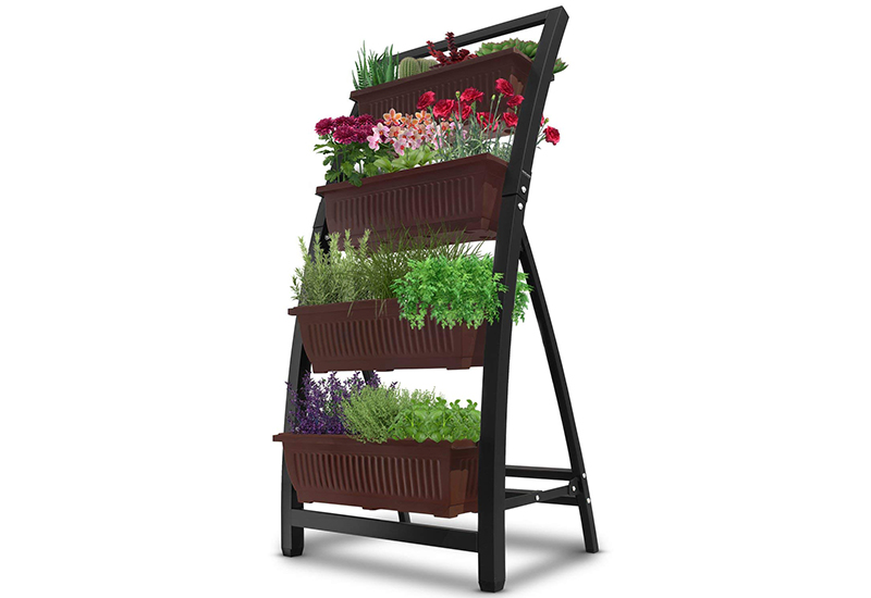 Outland Living 6ft Raised Vertical Garden Planter Boxes