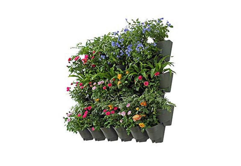 Worth Garden Self Watering Vertical Wall Plant Hanger Pots